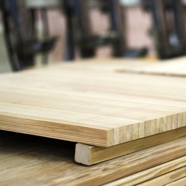 Мебельный щит лиственница 40x400 сорт А