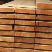 Обрезная доска лиственница 25х100