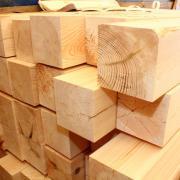 Обрезной брус из лиственницы 100x100х6000