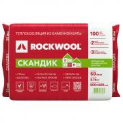 Каменная вата Rockwool Лайт Баттс Скандик 800x600х50мм 12 шт